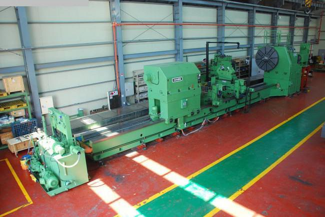 "1 – USED 110"" X 600"" INNSE (ITALY) CNC FLAT BED LATHE C-4423"