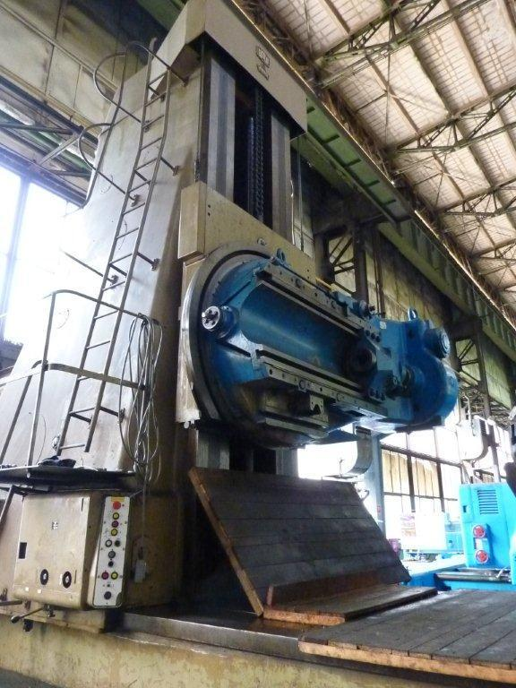 1 - USED ZFWZ 8000mm X 40/I MODUL GEAR HOBBER