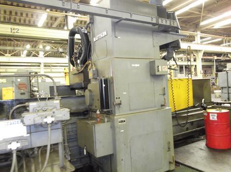 "1 – USED 24"" X 96"" MATTISON HYDRAULIC HORIZONTAL/VERTICAL SPINDLE COMBO SURFACE GRINDER"