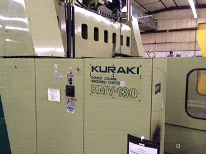 1 – USED KURAKI KMV-130 CNC BRIDGE TYPE VERTICAL MACHINING CENTER