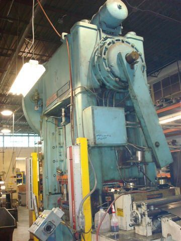 1 – USED MODEL BP2-200-48-36 NIAGARA SSDC PUNCH PRESS 14416