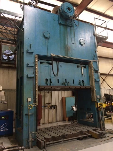 1 - RECONDITIONED 150 TON BLISS SSDC POWER PRESS C-4480