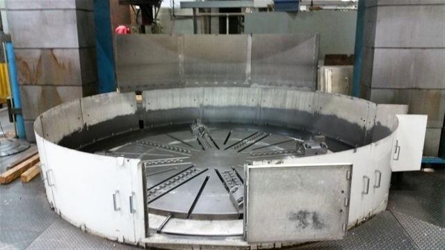 "1 – USED 157"" HANKOOK MODEL VTC 3040E CNC VERTICAL BORING MILL"