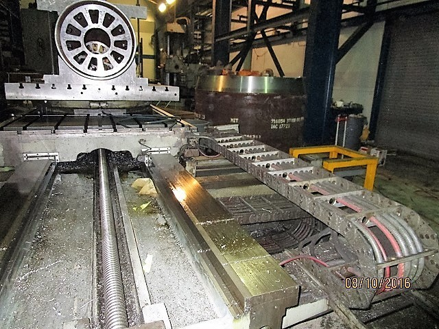 "1 – USED 5"" CINCINNATI GILBERT CNC TABLE TYPE HORIZONTAL BORING MILL"