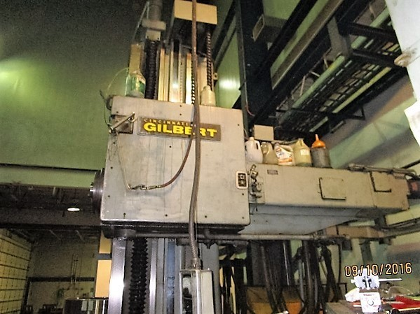 "1 – USED 5"" CINCINNATI GILBERT CNC TABLE TYPE HORIZONTAL BORING MILL C-5010"