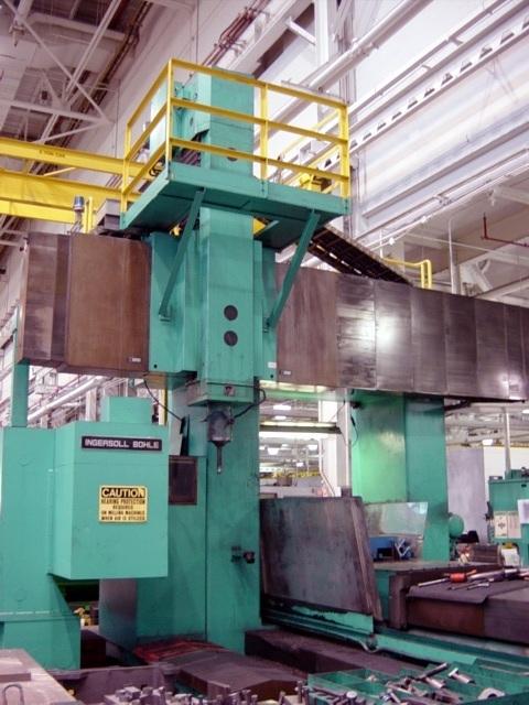 1 – USED INGERSOLL BOHLE CNC BRIDGE MILL C-5116