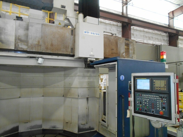 "1 – USED 78""/98"" HNK NT-20/25 CNC VERTICAL BORING MILL"