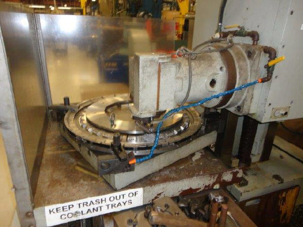 "1 – USED 4.33"" WONTAN CNC TABLE TYPE HORIZONTAL BORING MILL"