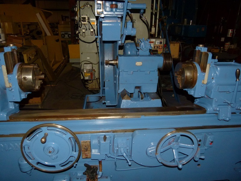 "​1 – USED 22"" X 90"" VAN NORMAN CRANK SHAFT GRINDER"