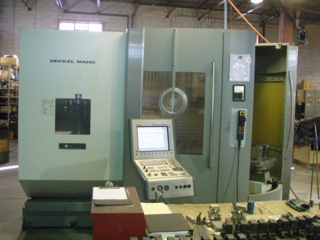 1 – USED DECKEL MAHO DMC 60T 5-AXIS TWIN PALLET CNC MACHINING CENTER