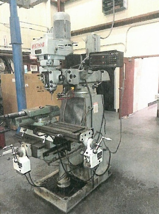 1 – USED 2 HP ENCO VARIABLE SPEED VERTICAL MILL C-5207