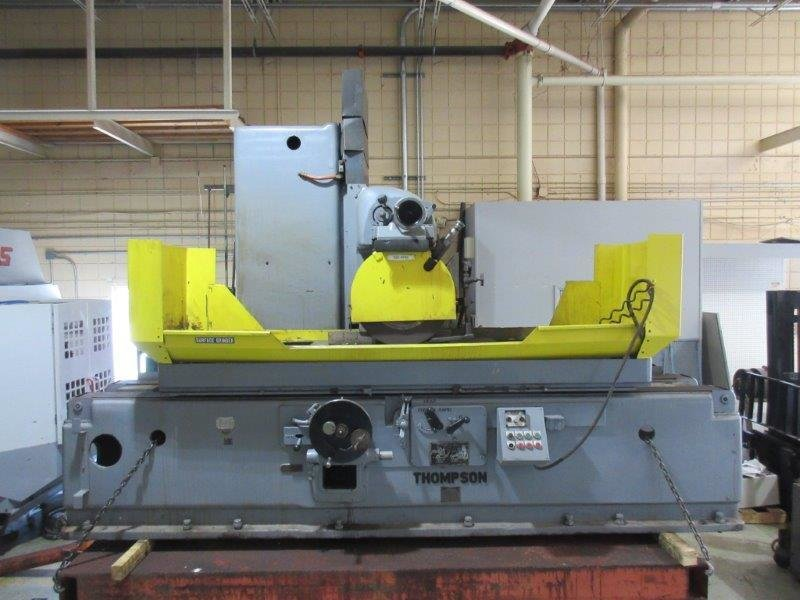 """1 – USED 24"""" X 48"""" THOMPSON HYDRAULIC 3-AXIS SURFACE GRINDER C-5286"""