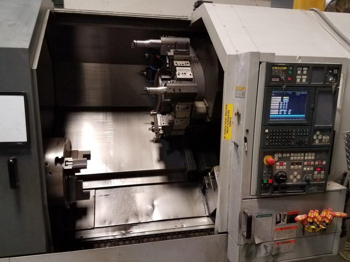 1 – USED SL-403-BMC800 MORI-SEIKI CNC LATHE