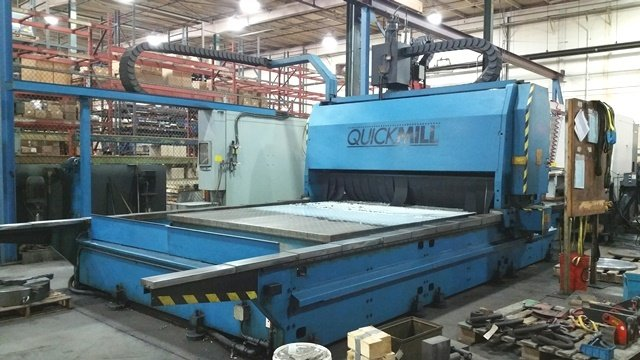 "1 – USED 96"" X 180"" GANTRY MILL (QUICK MILL) C-5273"