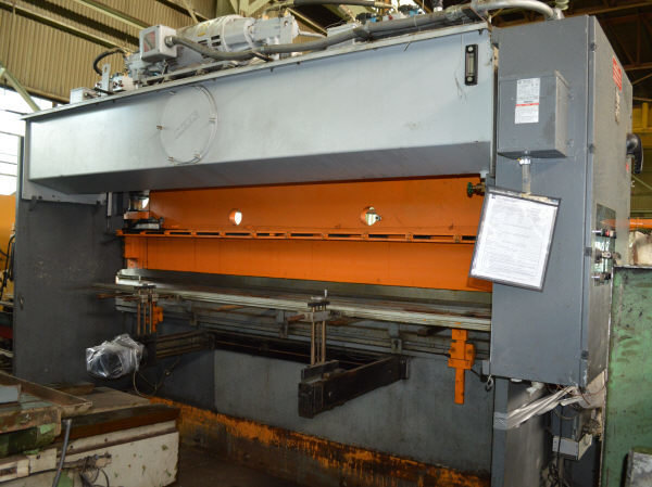 1 - USED 100 TON X 14' PACIFIC HYDRAULIC PRESS BRAKE C-4375