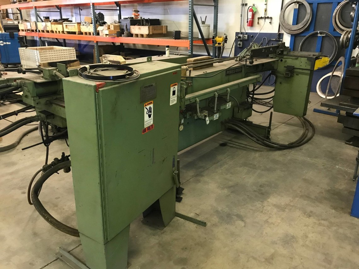 ​1 – USED #1 PINES HYDRAULIC TUBE BENDER