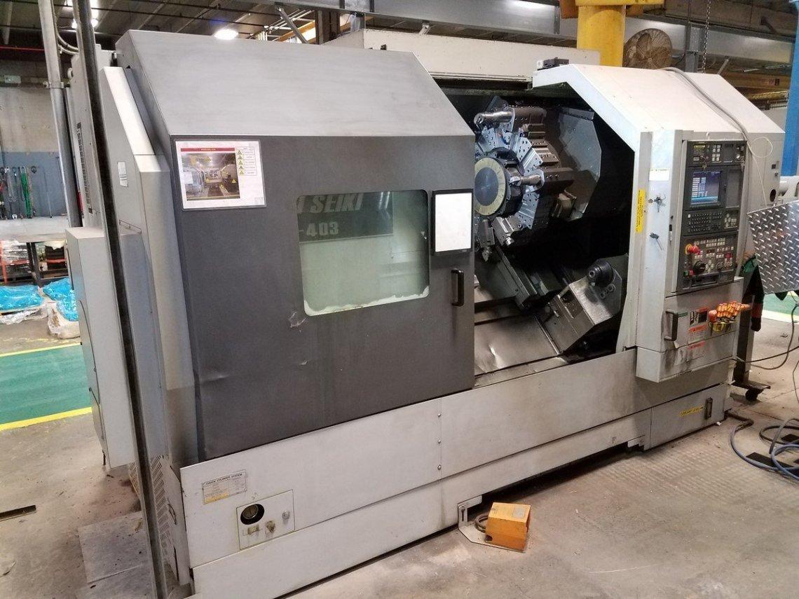 1 – USED SL-403-BMC800 MORI-SEIKI CNC LATHE C-5317