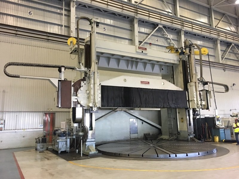 "1 – USED 300"" FARREL 5-AXIS VERTICAL BORING MILL C-5311"
