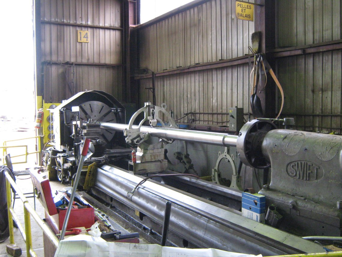 "1 – USED 60"" X 504"" SWIFT ENGINE LATHE"