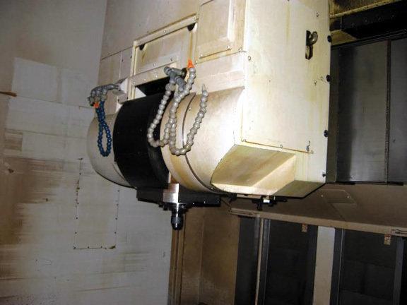 1 – USED OKUMA MODEL VTM-200YB 5-AXIS CNC VERTICAL TURRET LATHE