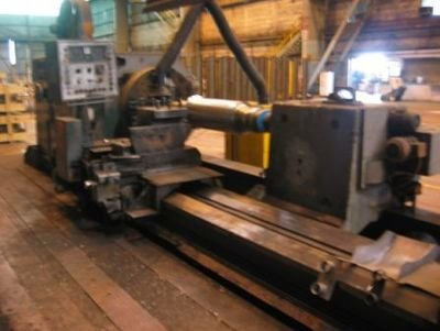 """1 – USED 55"""" X 250"""" HERKULES SUPER HEAVY DUTY MANUAL OR CNC LATHE"""