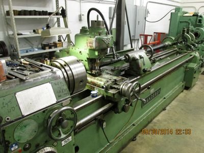 1 - USED 31-MU WANDERE UNIVERSAL HORIZONTAL SPLINE, THREAD & WORM MILLING/HOBBING MACHINE