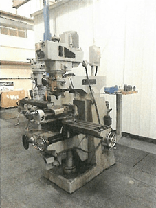 1 – USED 3 HP BEAVER TURRET TYPE VERTICAL MILLING MACHINE