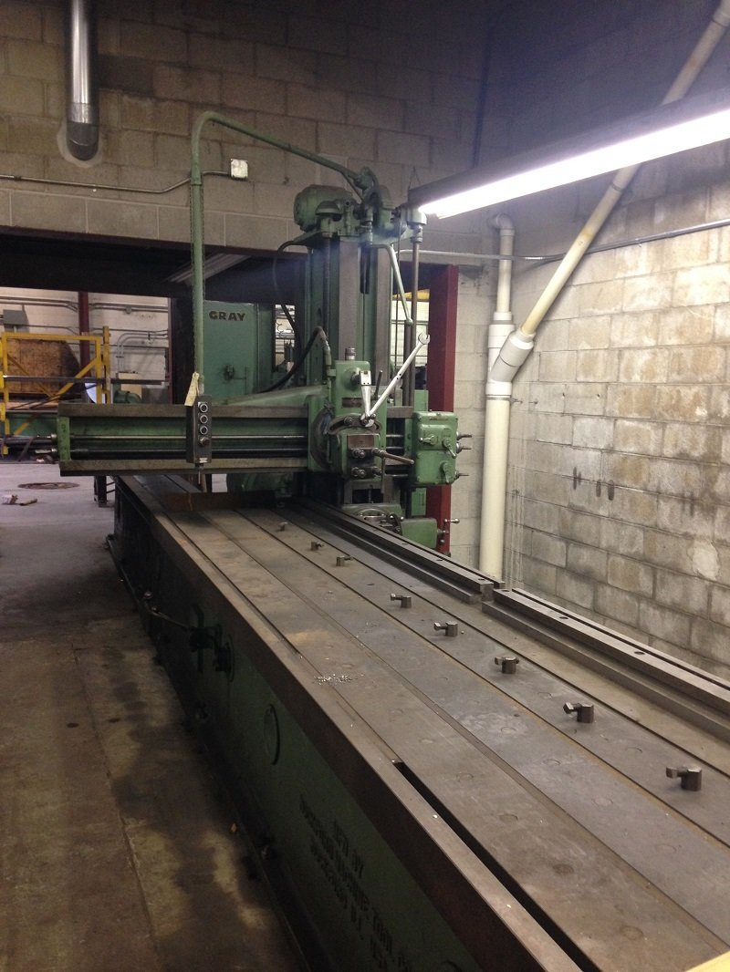 "1 – USED 36"" X 14' ROCKFORD HYDRAULIC OPEN SIDE PLANER"