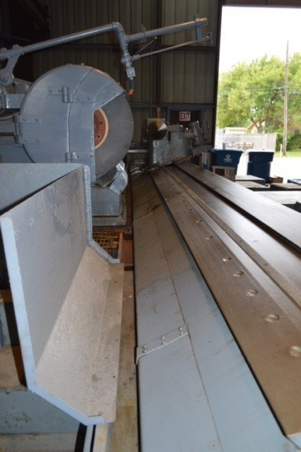 "1 - USED 40""/48"" X 16' NORTON PLAIN OD GAP GRINDER"
