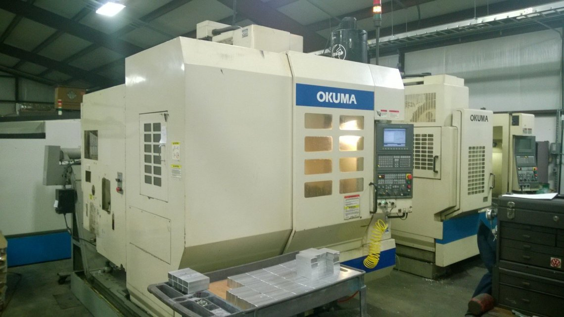 1 – USED OKUMA MC-V3016 CNC VERTICAL MACHINING CENTER C-5411