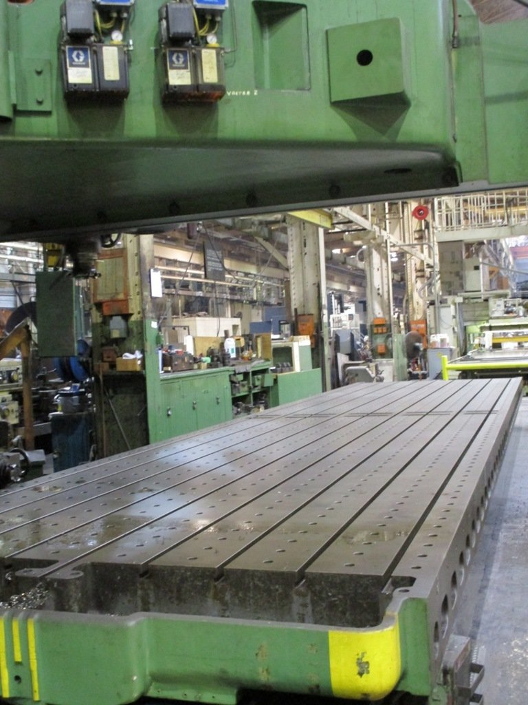 "1 – USED 120"" X 96"" X 36'  G&L OPEN SIDED PLANER MILL"