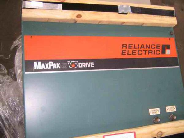 1 – USED 25 HP RELIANCE MAXPAX PLUS REGENERATIVE DC VARI-SPEED DRIVE