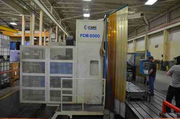 ​1 – USED CME FCM-5000 VERTICAL MACHINING CENTER