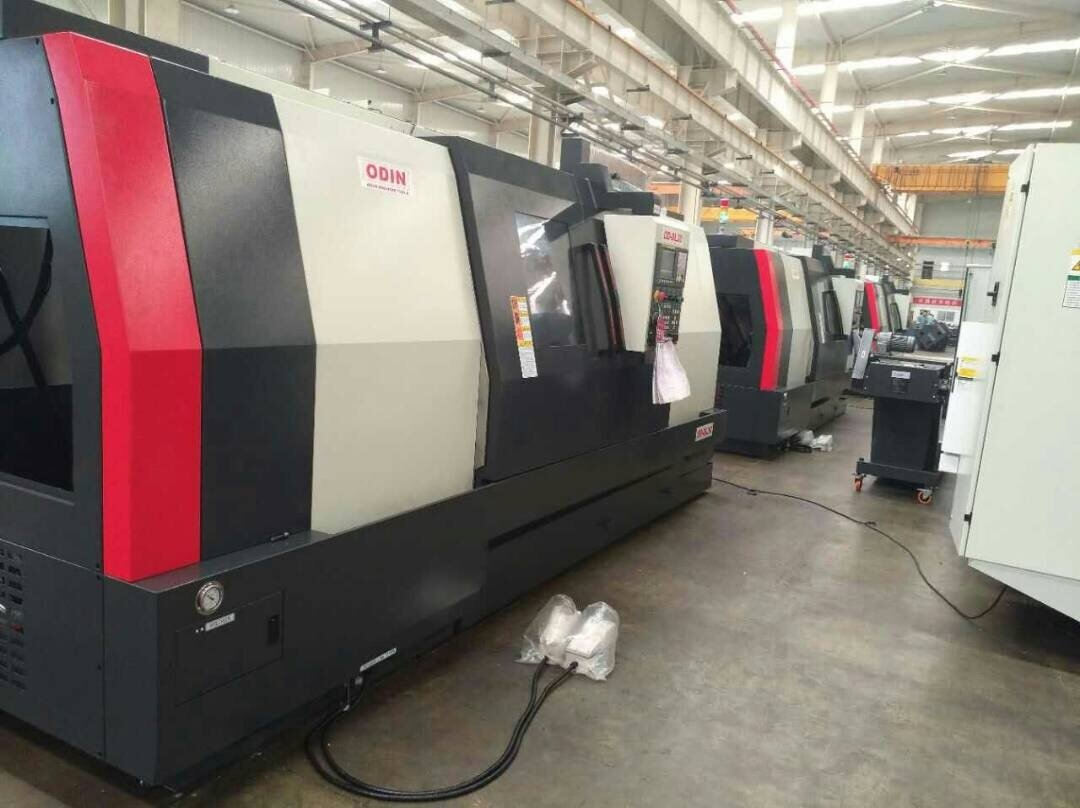 "6 – NEW 26"" X 60"" ODIN (ENGLISH) SLANT BED CNC TURNING CENTERS WITH MILLING"