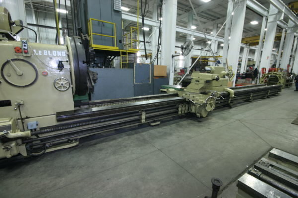 "1 – USED 63"" X 420"" LEBLOND HEAVY DUTY ENGINE LATHE C-5540"