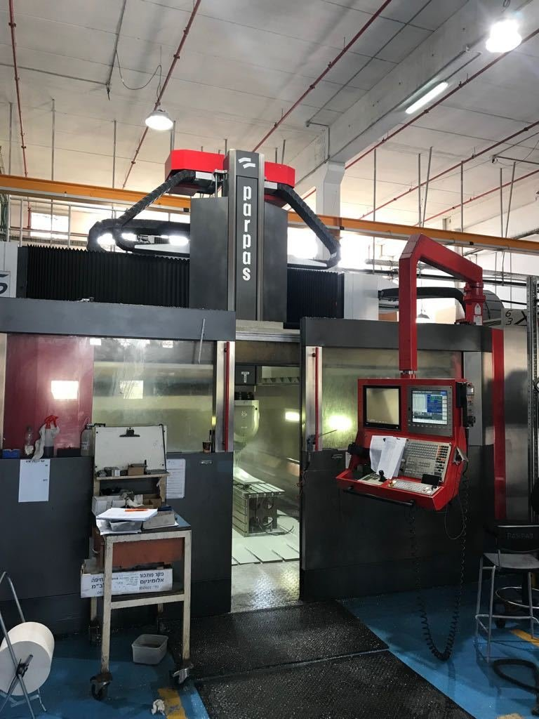 ​​1 – USED PARPAS XS-63 HIGH ACCURACY 5-AXIS GANTRY MACHINING CENTER C-5547