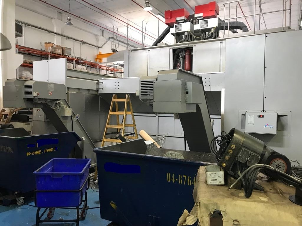 ​​1 – USED PARPAS XS-63 HIGH ACCURACY 5-AXIS GANTRY MACHINING CENTER