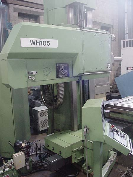"​1 – USED 4"" TOS VARNSDORF CNC TABLE TYPE HORIZONTAL BORING MILL"