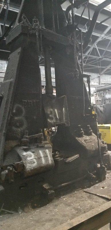 1 – USED 6,000 LB. CHAMBSBURG AIR DROP FORGING HAMMER