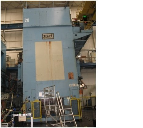 1 – USED WEINGARTEN *LINK DRIVE* 2,000 TON PRESS