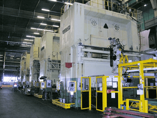 1 – USED 2,000 TON MULLER WEINGARTEN SSDC PRESS