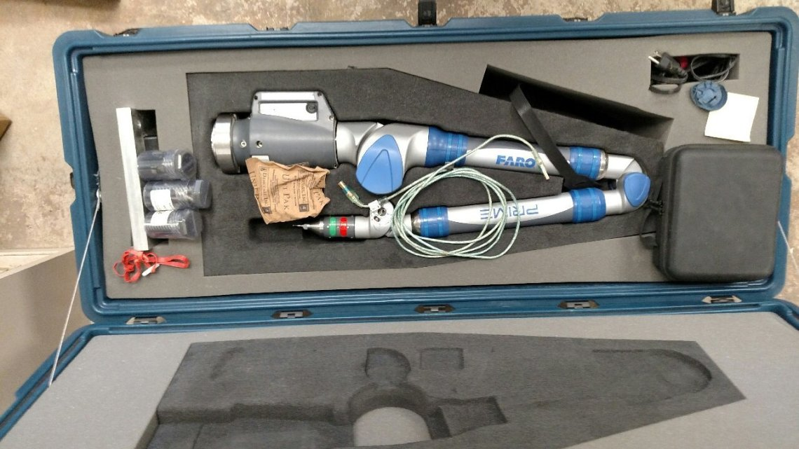 ​​1 – USED FARO ARM PRIME PORTABLE INSPECTION MACHINE