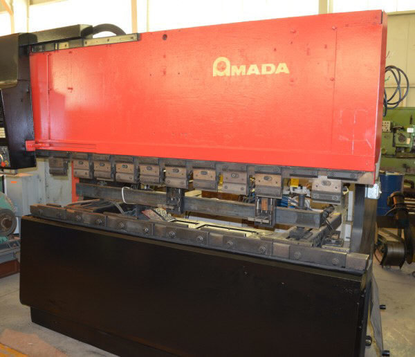 1 – USED 88 TON AMADA CNC 3-AXIS UP-ACTING HYDRAULIC PRESS BRAKE C-5579