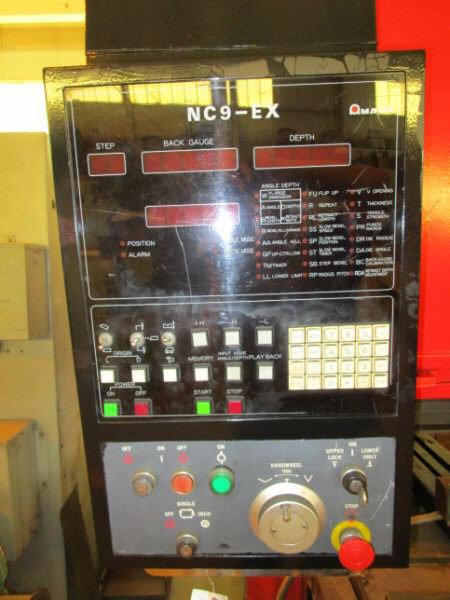 1 – USED 88 TON AMADA CNC 3-AXIS UP-ACTING HYDRAULIC PRESS BRAKE