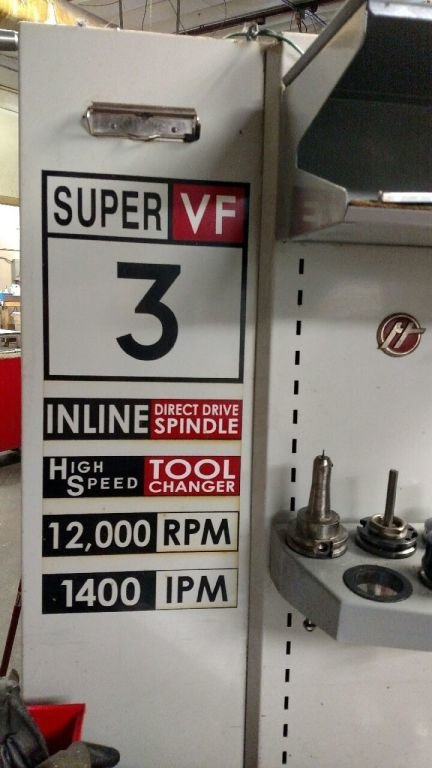 1 – USED HAAS VF-3SS VERTICAL MACHINING CENTER