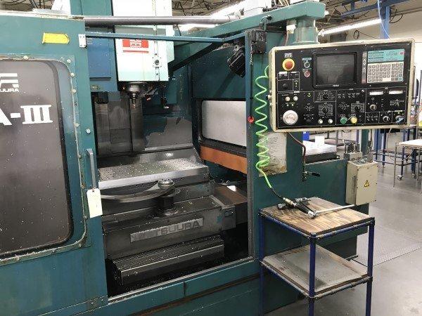 3 – USED RA-IVF MATSUURA DUAL-PALLET CNC VERTICAL MACHINING CENTER C-5597-8-9
