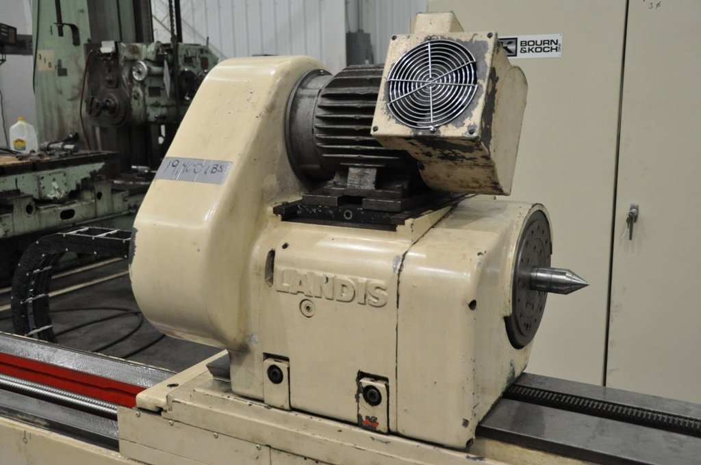 "​1 – USED 14"" X 120"" LANDIS 2-AXIS CNC CYLINDRICAL GRINDER"