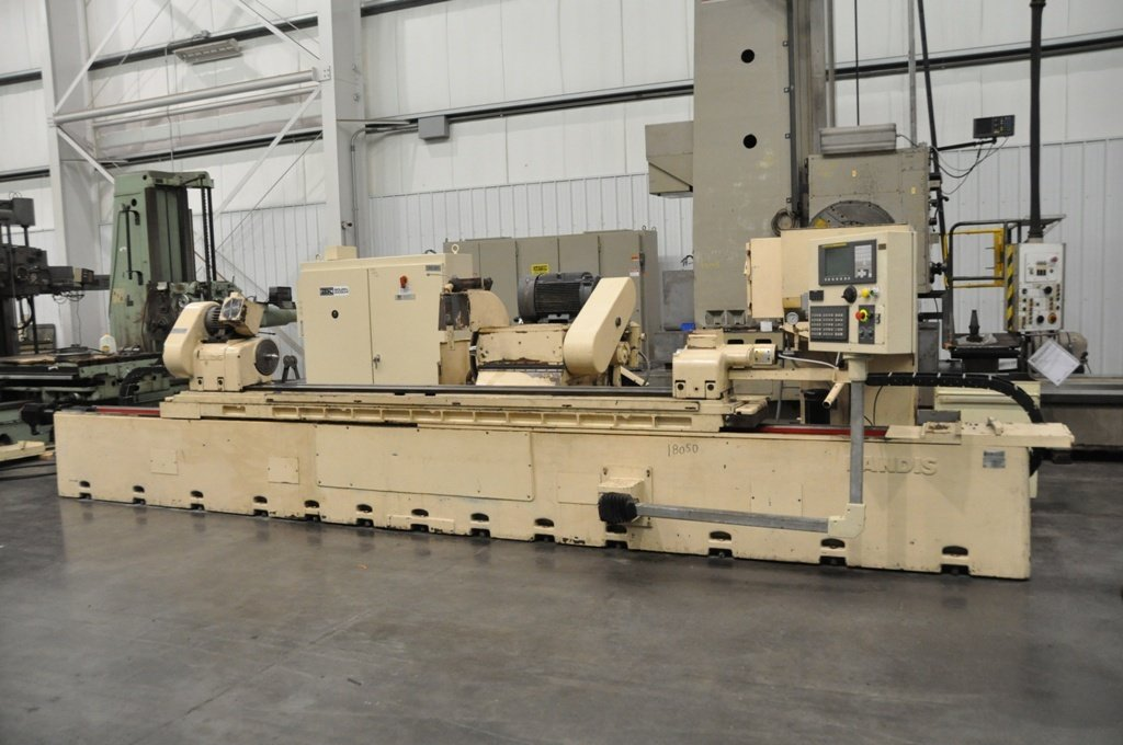"​1 – USED 14"" X 120"" LANDIS 2-AXIS CNC CYLINDRICAL GRINDER C-5644"