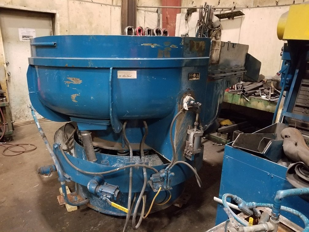 ​​1 – USED 8 CUBIC FEET ROTO-FINISH SPIRATION VIBRATORY TUB