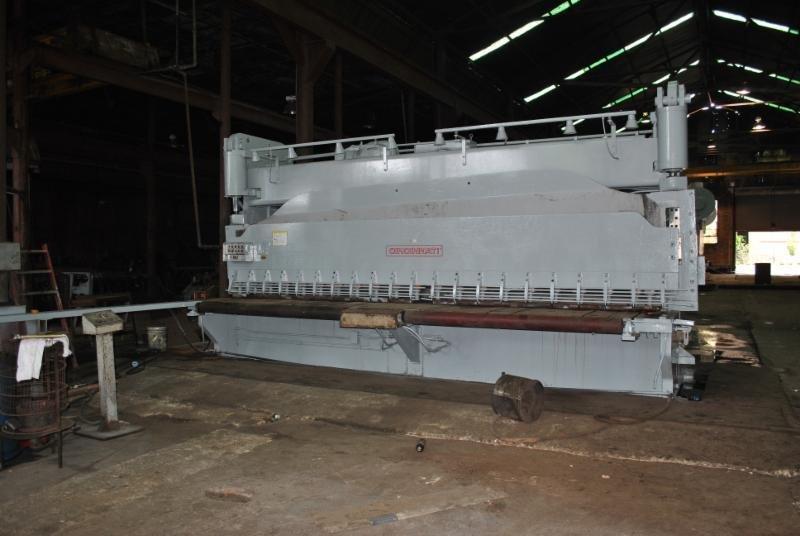 1 – USED 1,000 TON CINCINNATI MODEL 36 MECHANICAL PRESS BRAKE C-5651